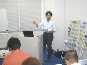 MCS立川代表税理士 舛田義行 開会の挨拶