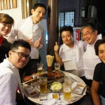 「焼き肉徳ちゃん」津田社長とスタッフさんを囲んで