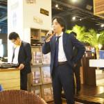 舛田代表の開会の挨拶