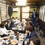 舛田さんの挨拶で乾杯!