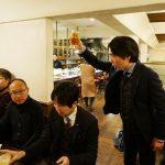舛田代表のご挨拶で乾杯
