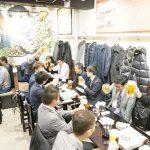 舛田代表のご挨拶で乾杯ー!今回の懇親会は「世界の山ちゃん立川店」です。