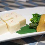 クリームチーズ&菜の花の酢味噌