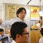 舛田代表の閉会の挨拶