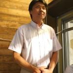 これから企業される高橋 賢さんからのご挨拶