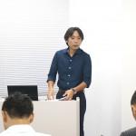 MCS立川代表税理士 舛田氏 開会の挨拶