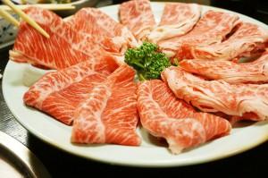 本日はしゃぶしゃぶ食べ放題「とても良い肉でした」