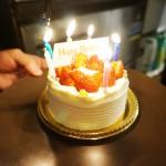 リラクゼーション Luna櫻井さんにサプライズ誕生ケーキ!