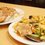 キクラゲ玉子と豚肉炒め