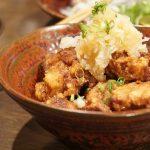 揚げ鶏おろしポン酢